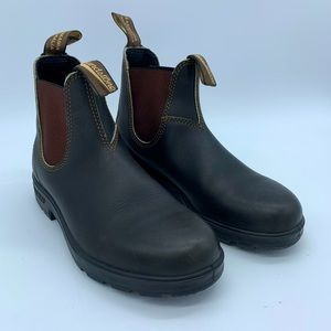 Blundstone size AU 5 NEW black/brown leather boots